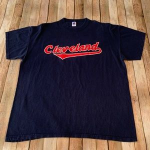 Russell Vintage Cleveland Indians tee shirt